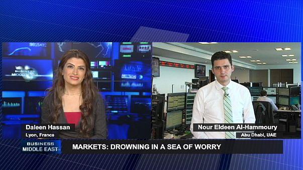 دوامة قلق تغرق الأسواق العالمية وتنعش الأسواق العربية