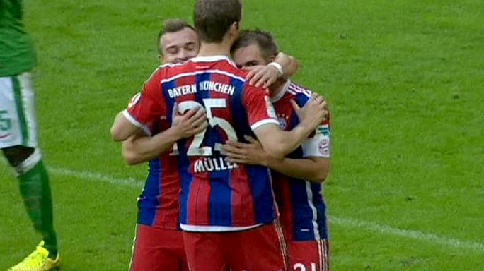 Free-scoring Bayern hand Werder six of the best