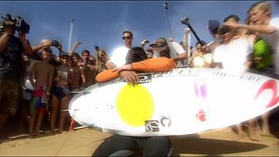 Surfen: Kelly Slater verpasst die Welle
