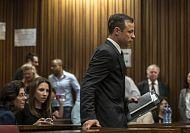 Oscar Pistorius sentenced to five years in jail for killing girlfriend