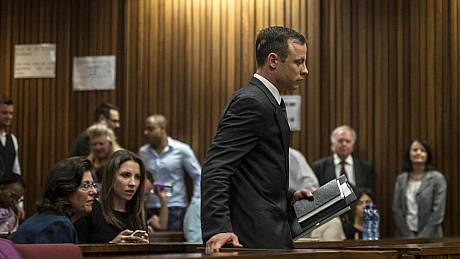 Oscar Pistorius sentenced to five years in jail for killing girlfriend