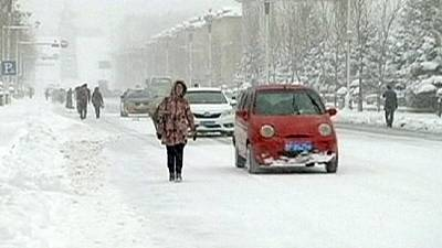 Heavy autumn snow blankets Mohe City, China – nocomment