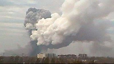 Powerful explosion shakes eastern Ukraine – nocomment