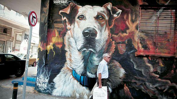 Ένα γκράφιτι για τον... «Λουκάνικο»!