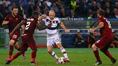 AS Roma suffer humiliating defeat to Bayern in Champions League