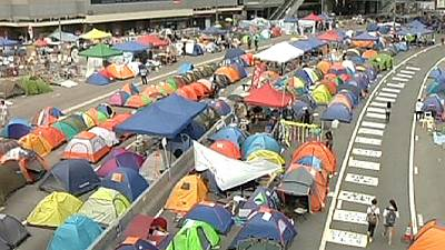 Hong Kong demonstrations continue despite planned talks – nocomment