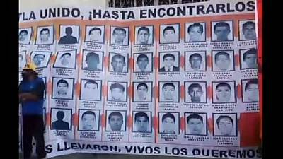 Missing students' plight triggers human rights outrage in Mexico