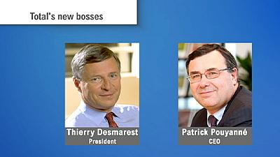 Total names new bosses after Christophe de Margerie's untimely death