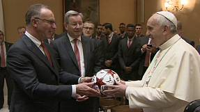Pope praises Bayern after win over Roma