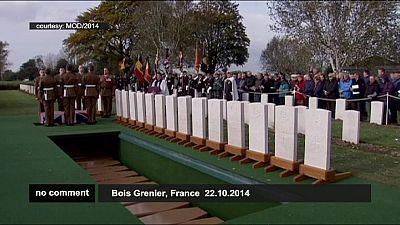 British soldiers reinterred 100 years after their deaths