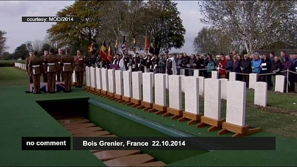British soldiers reinterred 100 years after their deaths