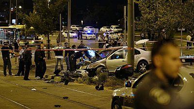 """Funeral en Jerusalén del bebé atropellado por un palestino en lo que Tel Avivi califica de """"ataque terrorista"""""""