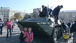 Kharkiv la résistante, terre d'accueil des déplacés du Donbass