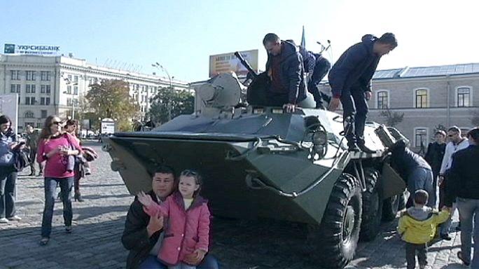Harkiv Donbas'tan kaçan sığınmacılara ev sahipliği yapıyor