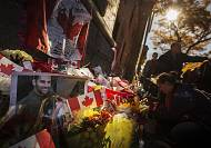 Canada will never be intimidated' says PM Harper after Ottawa shootings