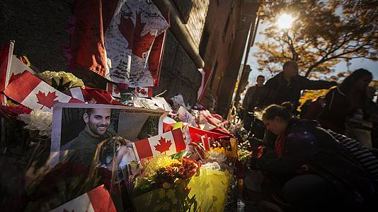 Canada 'will never be intimidated' says PM after Ottawa shootings