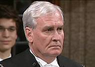 Ottawa shooting: Kevin Vickers receives a hero's welcome in Canadian parliament