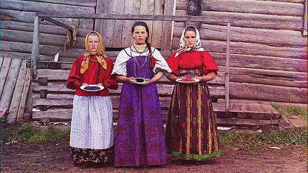 La Russia a colori, com'era cento anni fa