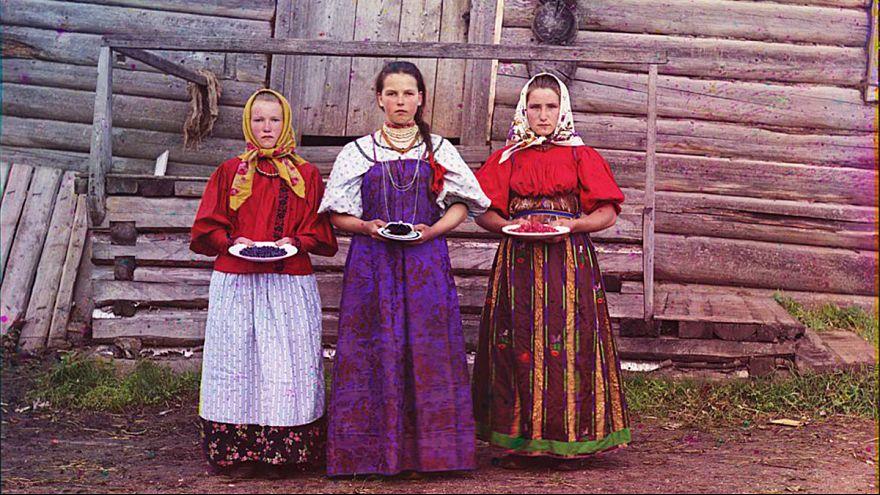 Russland vor der Revolution in bisher unbekannten Farbaufnahmen