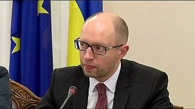 Ukraine PM warns Russia may try to disrupt election