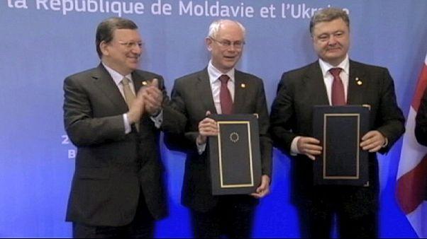 اوکراین چشم براه پیوستن به اروپا