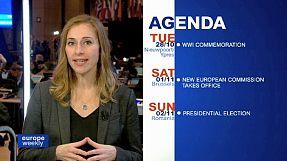 Nueva Comisión, cumbre europea y premio Sájarov