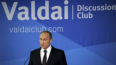 Putin accuses US of 'universal diktat' on global affairs