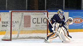 Finnish ice hockey player makes history