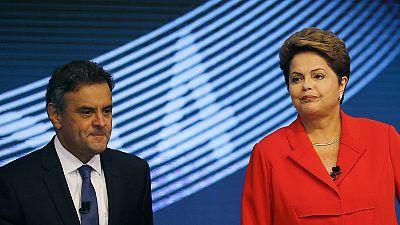 Presidenciais no Brasil: Dilma e Aécio fizeram campanha histórica