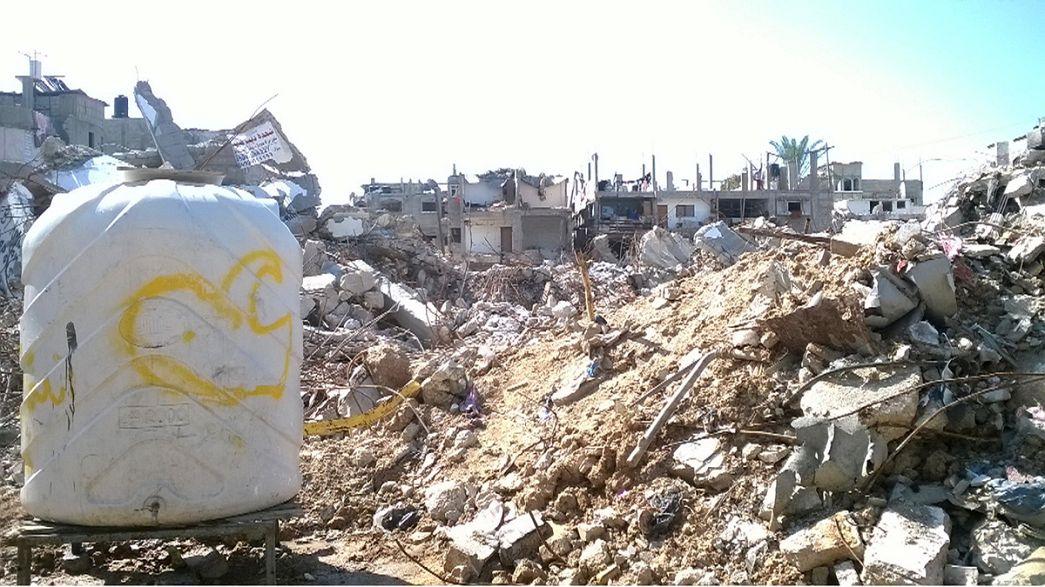 La reconstruction de Gaza se fait attendre