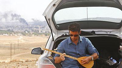 Music amid shelling
