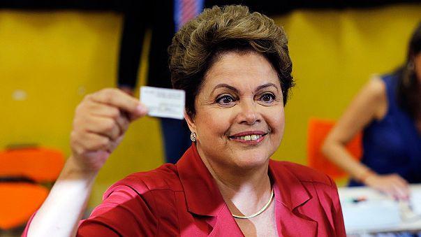 Dilma Rousseff réélue à la tête du Brésil