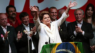 """Re-election is a vote of hope"", says Brazil President Rousseff"