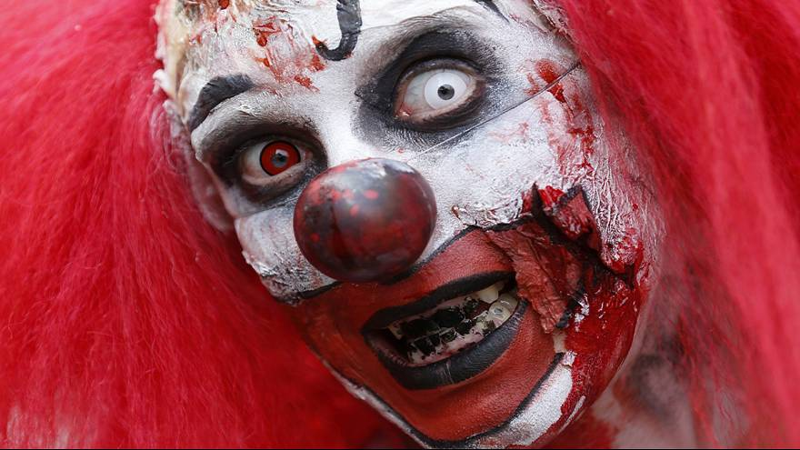 Clown terror no laughing matter for France