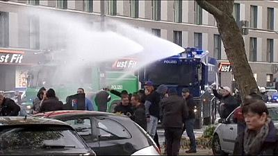Germany: Clashes between far-right hooligans and police