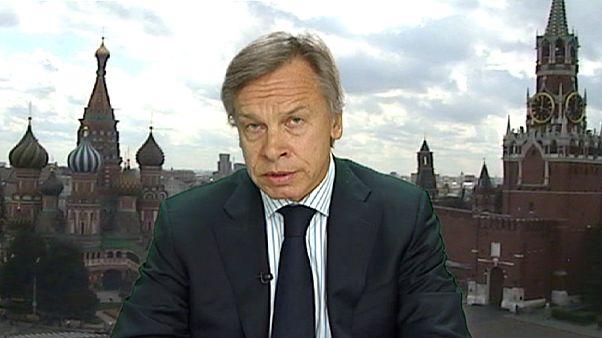 """Ukraine : Moscou salue """"prudemment"""" la victoire des pro-occidentaux aux législatives"""