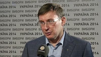 Ukraine election: Yuriy Lutsenko tells euronews about coalition talks
