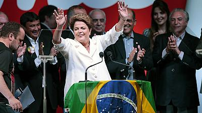 Brazilian markets plunge following Rousseff victory