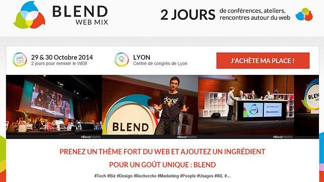 'Blend Web Mix', deux jours de web en capitale des Gaules