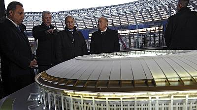 Blatter backs Moscow for 2018 World Cup despite boycott calls