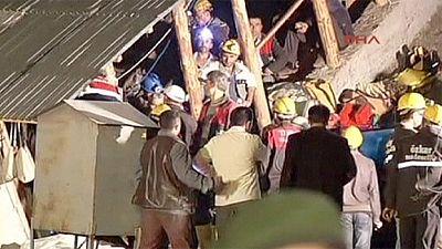 Turkey: Miners trapped 300 metres underground