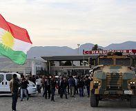 Peshmerga relief operation finally en route to Kobani
