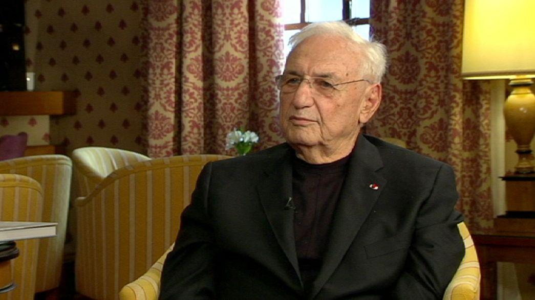 Entretien avec Frank Gehry, lauréat du prix Prince des Asturies des Arts 2014