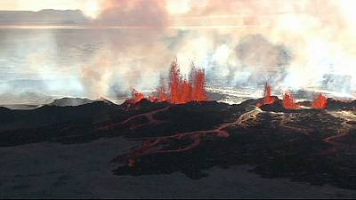 Iceland's volcanic eruptions force local residents indoors