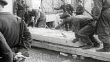 بناء جدار برلين