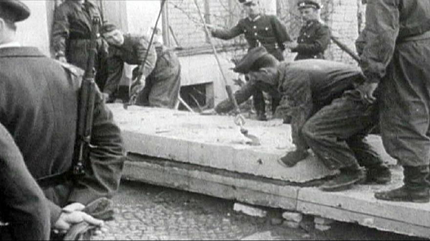 A berlini fal építése