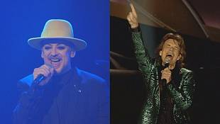 Culture Club off on tour as Rolling Stones wrap up theirs