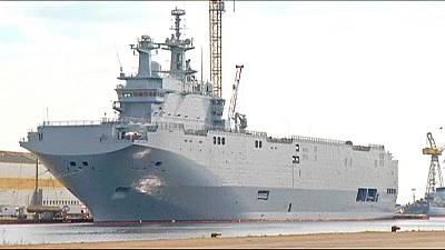 France 'to deliver' Mistral warship, says Russia