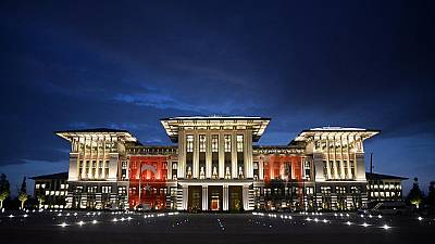 Turkish president Erdogan unveils his new palace of a thousand rooms