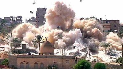 Egypt clears homes to make Gaza buffer zone